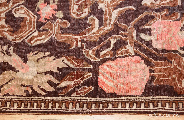 antique caucasian karabagh hallway runner rug 1120 border Nazmiyal