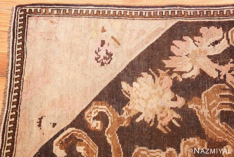 antique caucasian karabagh hallway runner rug 1120 corner Nazmiyal