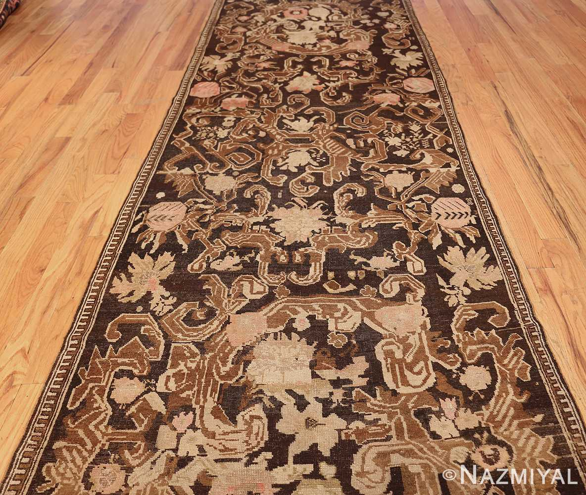 antique caucasian karabagh hallway runner rug 1120 field Nazmiyal