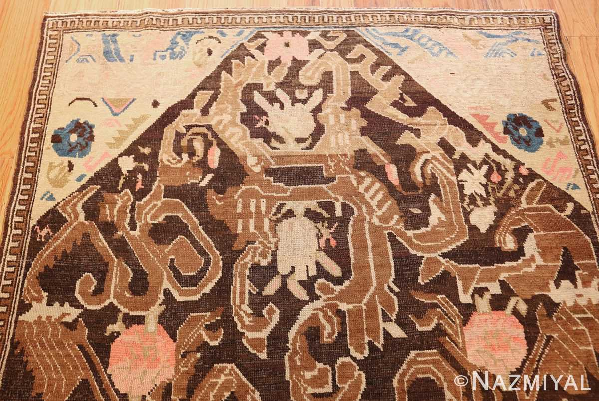 antique caucasian karabagh hallway runner rug 1120 top Nazmiyal