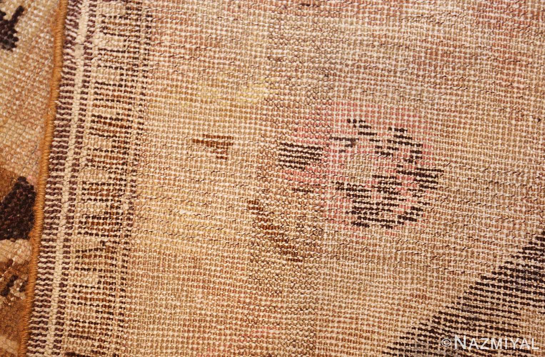 antique caucasian karabagh hallway runner rug 1120 weave Nazmiyal