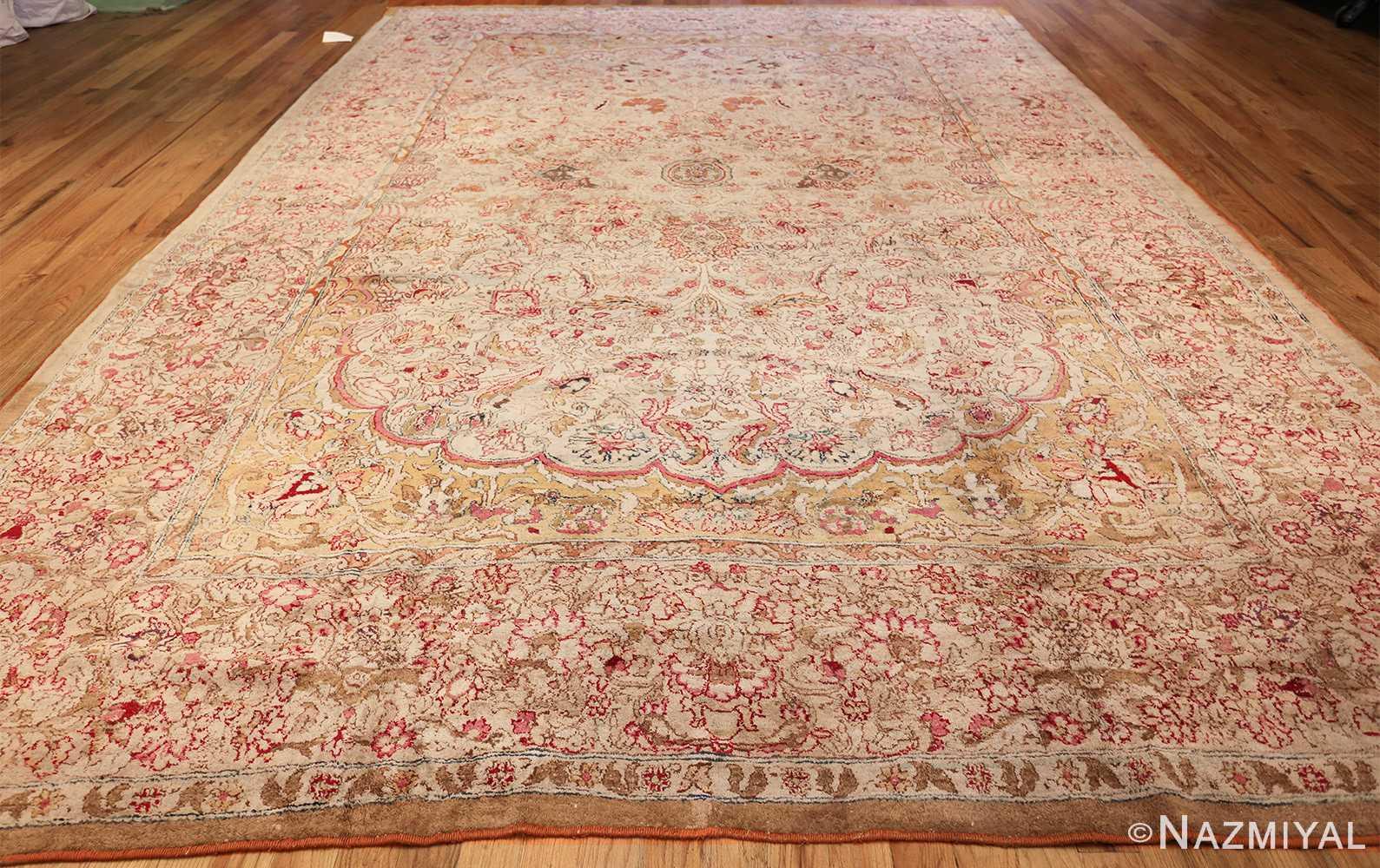 antique indian agra oriental rug 40535 whole Nazmiyal