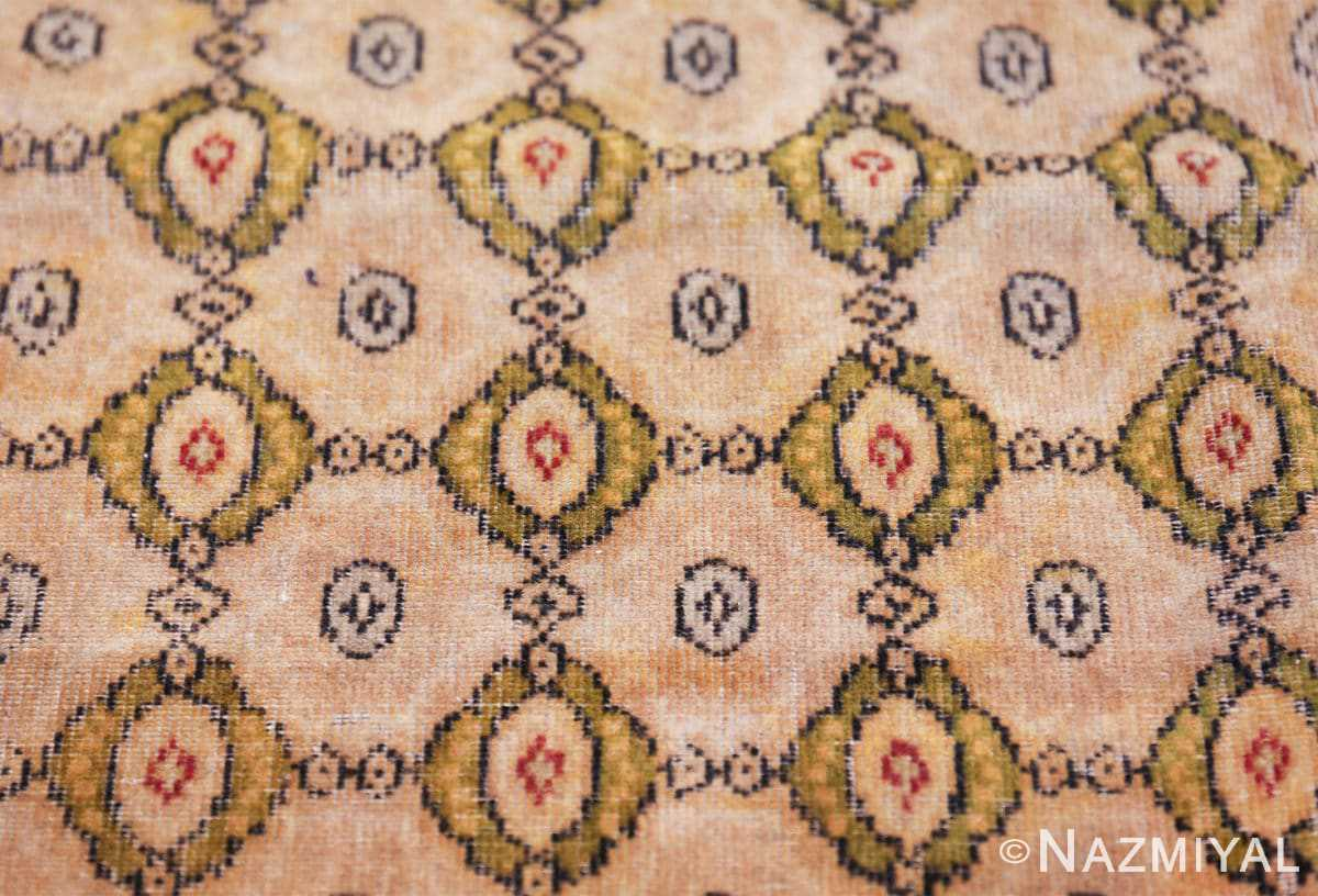 antique indian oriental textile 41624 closeup Nazmiyal
