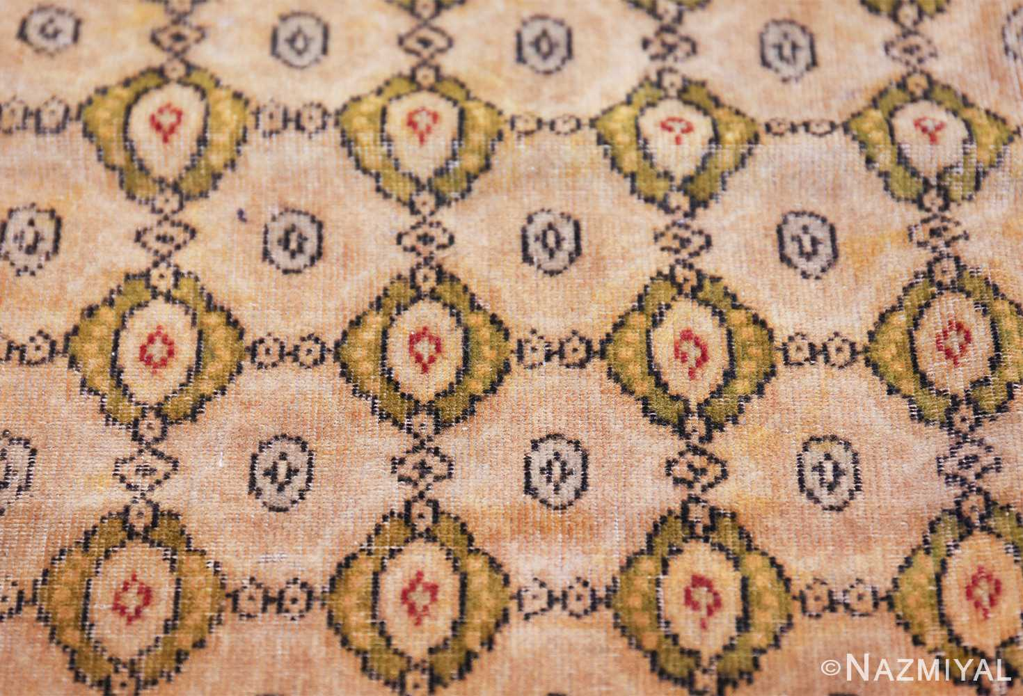 antique indian oriental textile 41624 closeup Nazmiyal