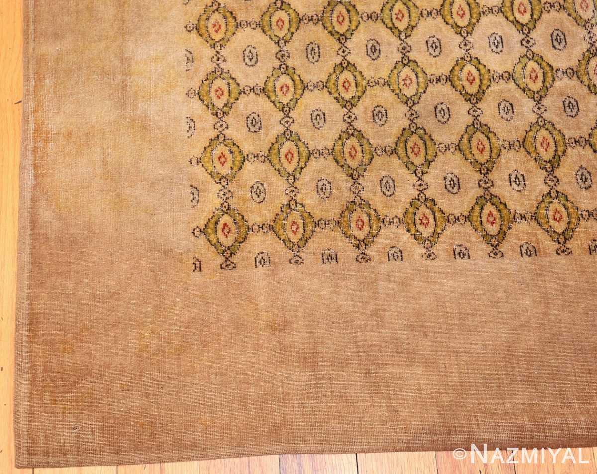 antique indian oriental textile 41624 corner Nazmiyal