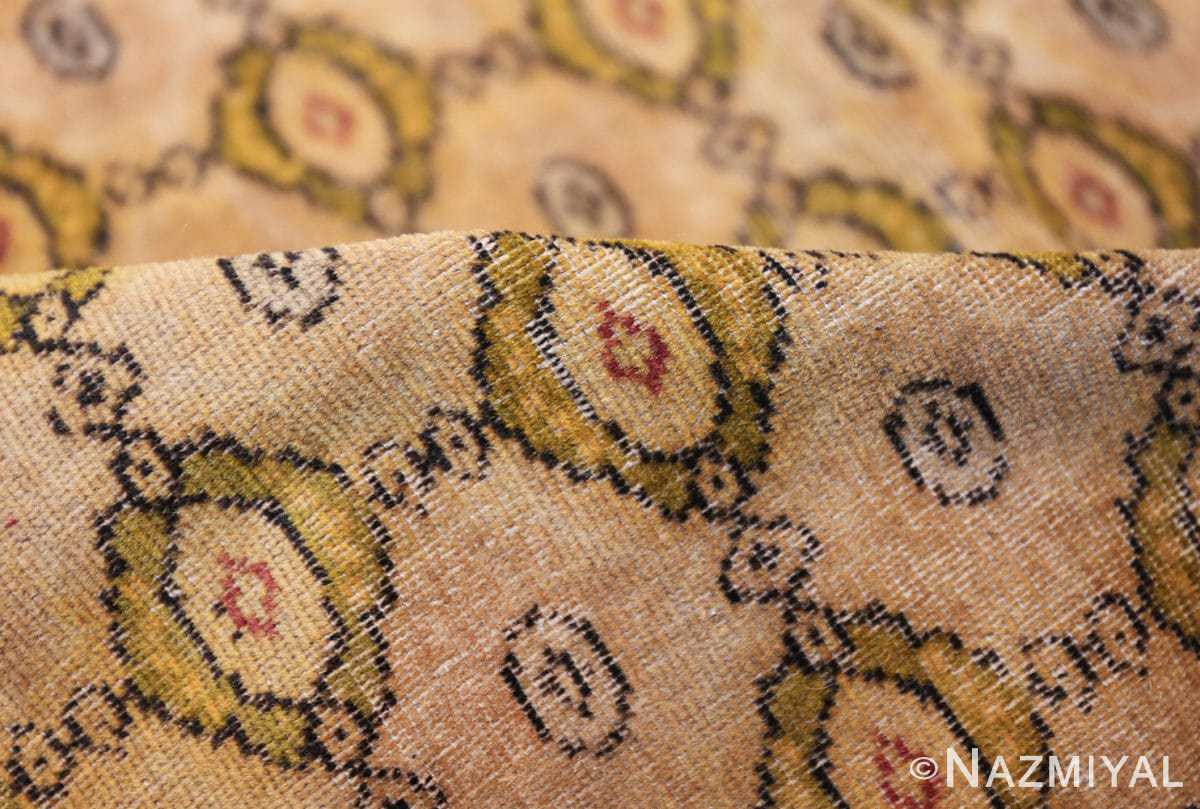 antique indian oriental textile 41624 pile Nazmiyal