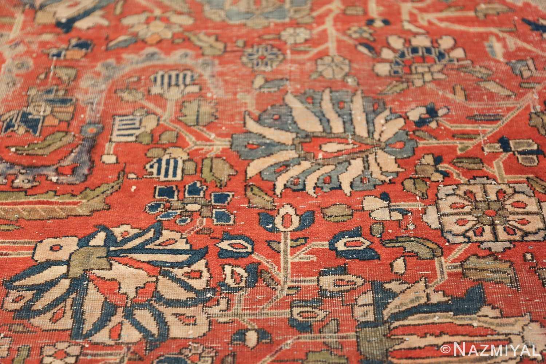 Antique Kashan Persian Rug 2851 Nazmiyal Collection