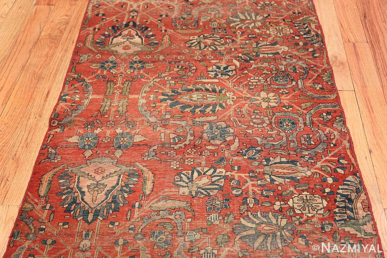 antique kashan rug fragment 2851 field Nazmiyal