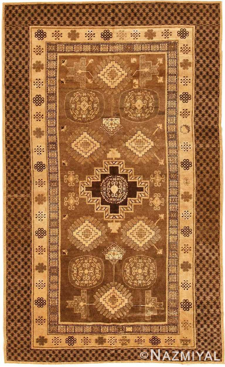 antique khotan oriental rug 42529 Nazmiyal