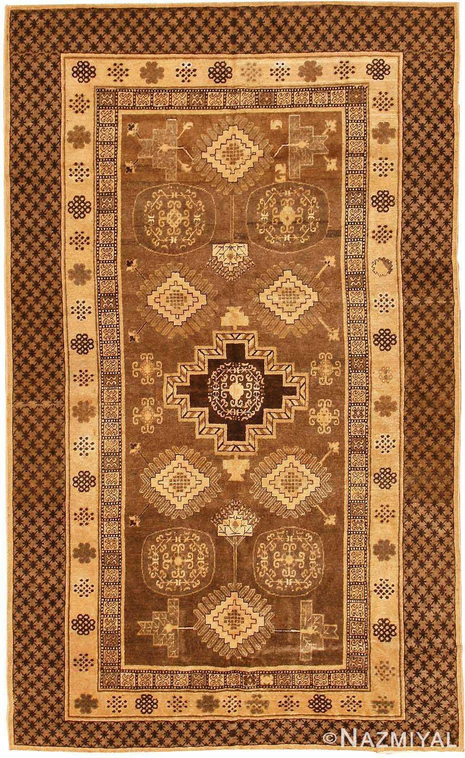 antique khotan oriental rug 42529 Nazmiyal