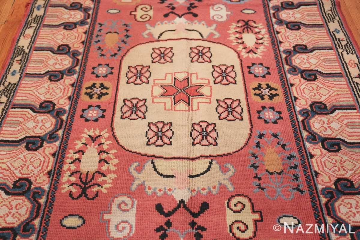 Antique Khotan Samarkand Rug 41507 Field Design Nazmiyal