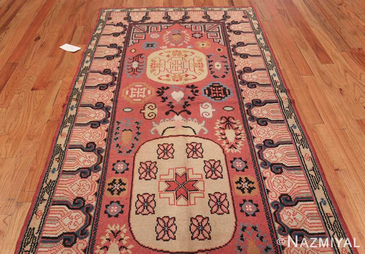Antique Khotan Samarkand Rug 41507 Top Design Nazmiyal