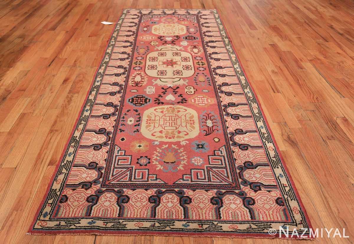 Antique Khotan Samarkand Rug 41507 Whole Design Nazmiyal