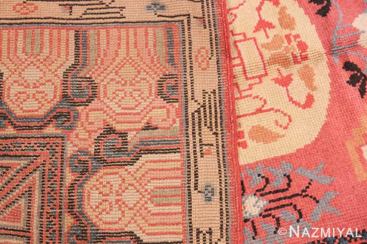 Antique Khotan Samarkand Rug 41507 Woven Knots Nazmiyal