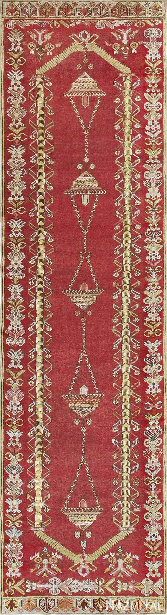 Antique Kirshehir Turkish Rug 2389 Nazmiyal