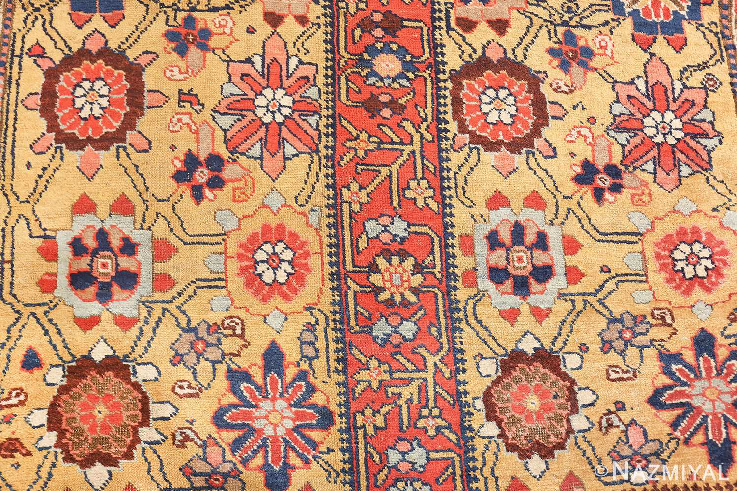 antique kurdish bidjar persian sampler rug 40485 design Nazmiyal