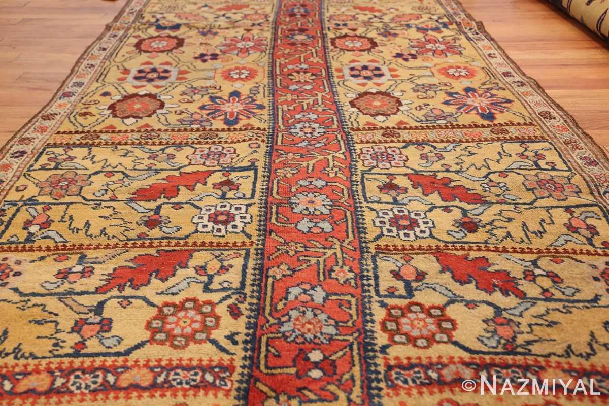 antique kurdish bidjar persian sampler rug 40485 field Nazmiyal