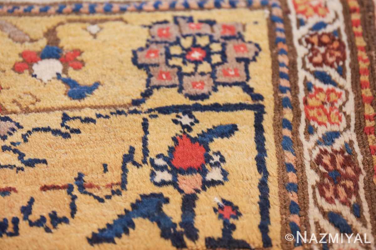 antique kurdish bidjar persian sampler rug 40485 flower Nazmiyal