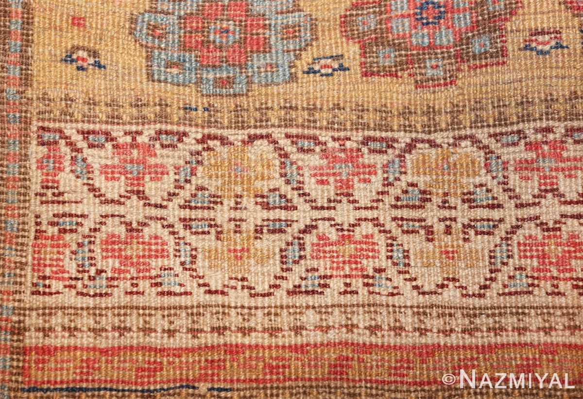 antique kurdish bidjar persian sampler rug 40485 knots Nazmiyal
