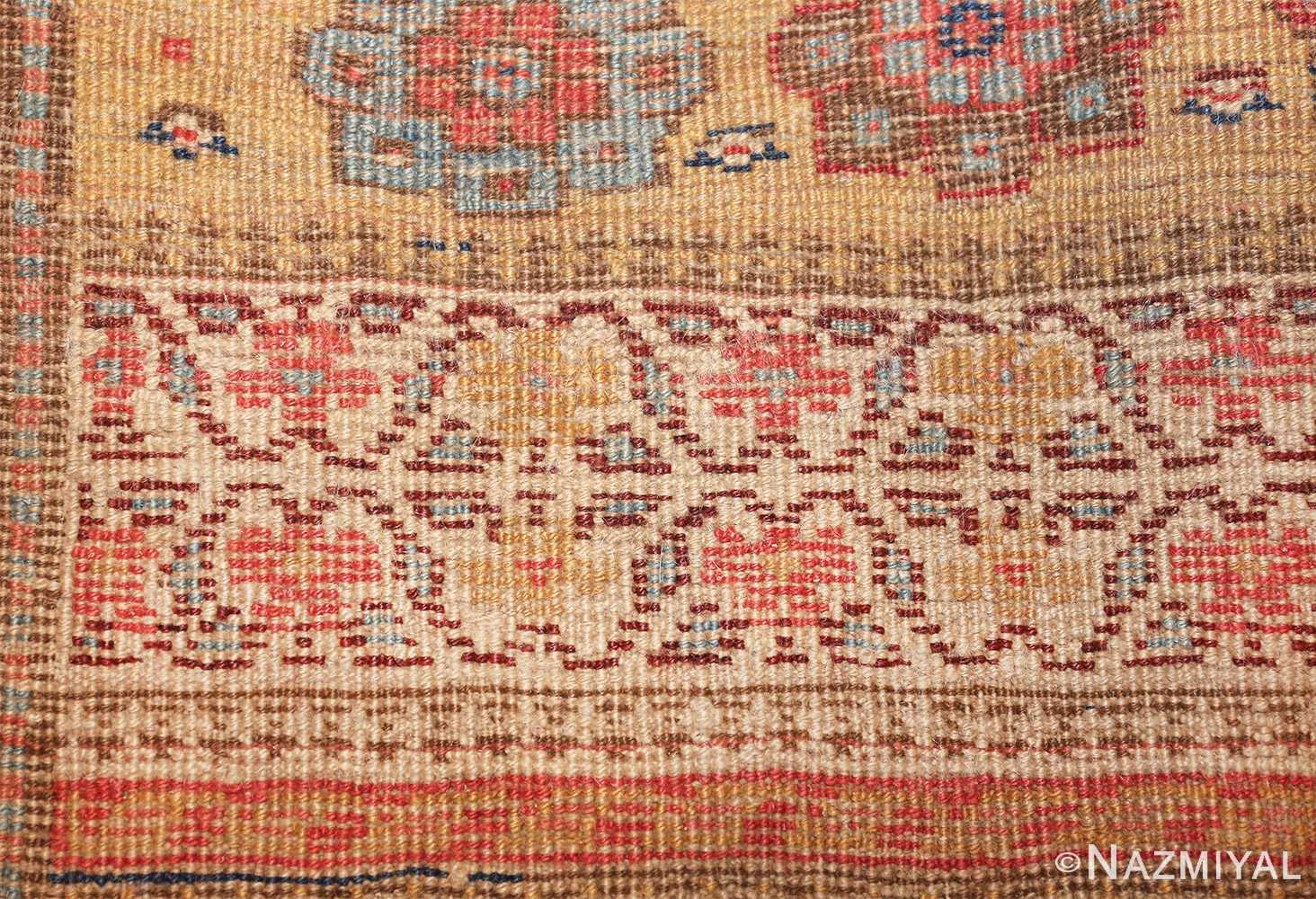 antique kurdish bidjar persian sampler rug 40485 knots Nazmiyal