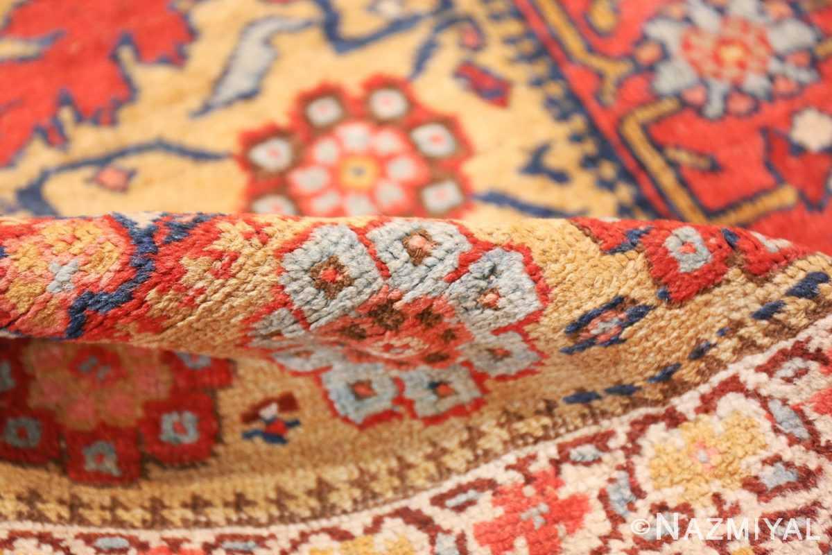 antique kurdish bidjar persian sampler rug 40485 pile Nazmiyal