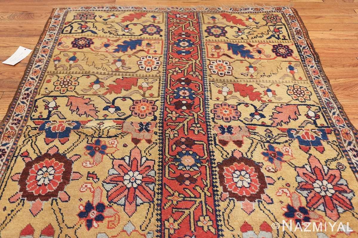 antique kurdish bidjar persian sampler rug 40485 top Nazmiyal