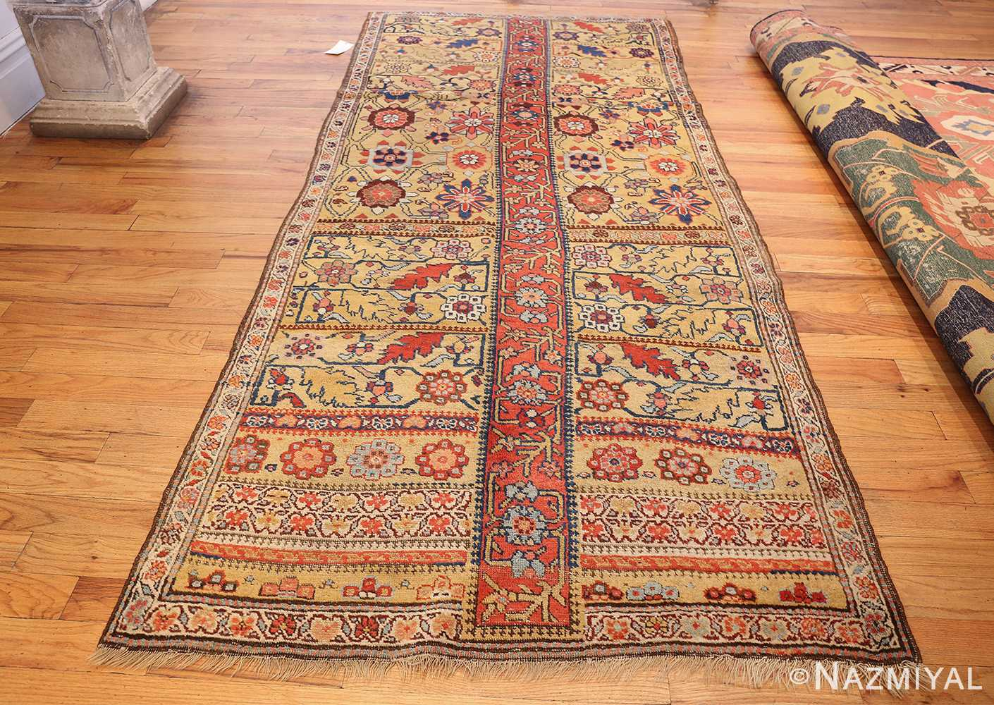 antique kurdish bidjar persian sampler rug 40485 whole Nazmiyal