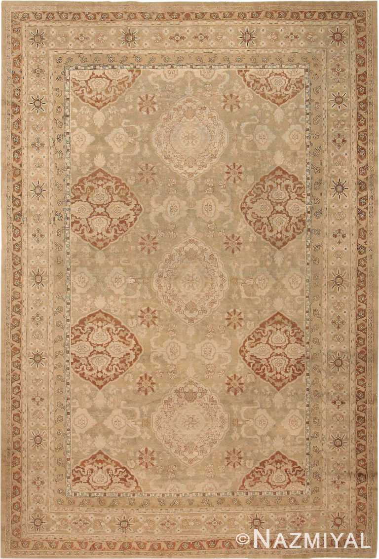 Antique Oriental Indian Amritsar Rug #3409 by Nazmiyal Antique Rugs