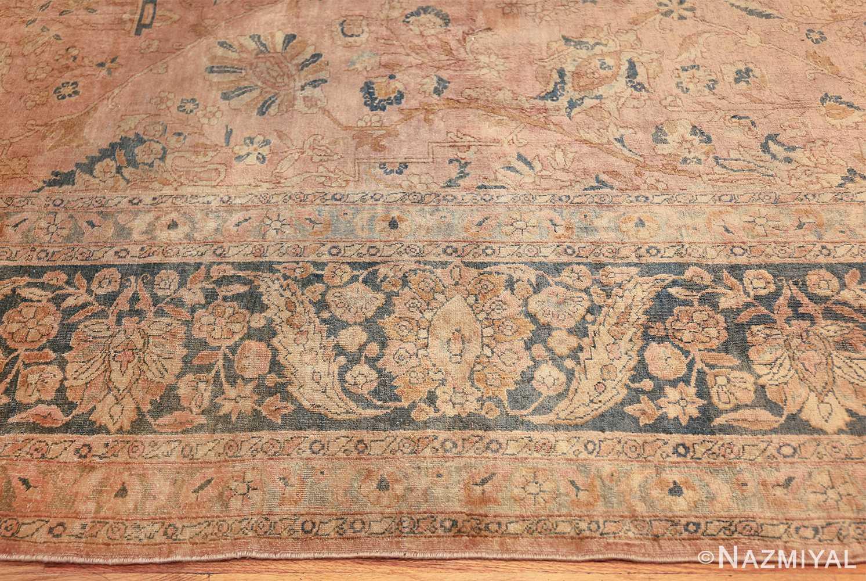 antique tabriz persian rug 2827 border Nazmiyal