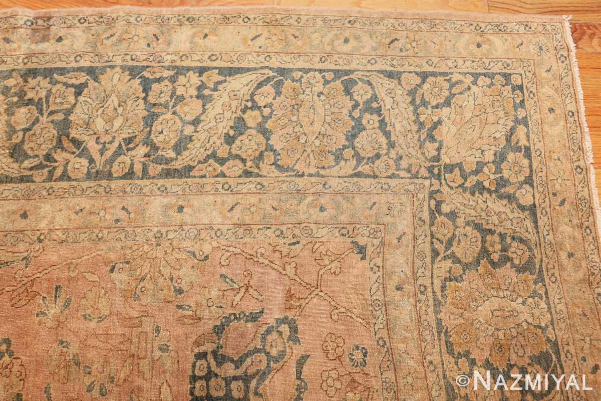 antique tabriz persian rug 2827 corner Nazmiyal