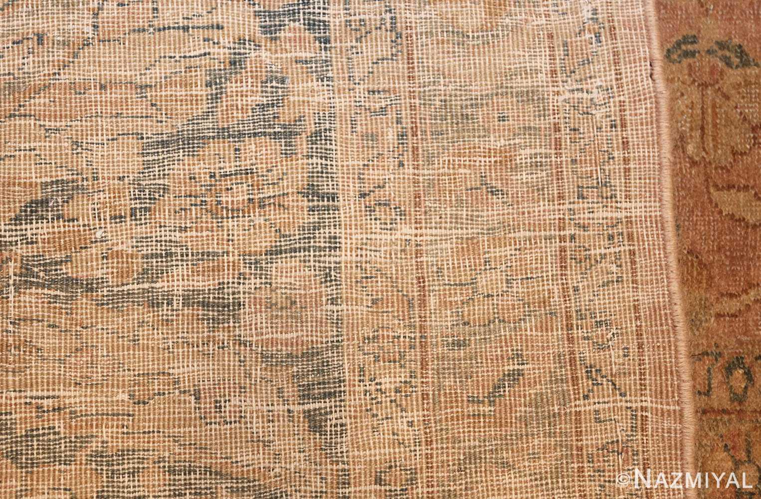antique tabriz persian rug 2827 weave Nazmiyal