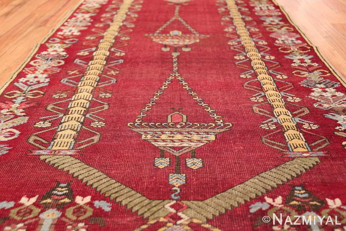 Antique Turkish kirshehir Runner 2389 Field Design Nazmiyal