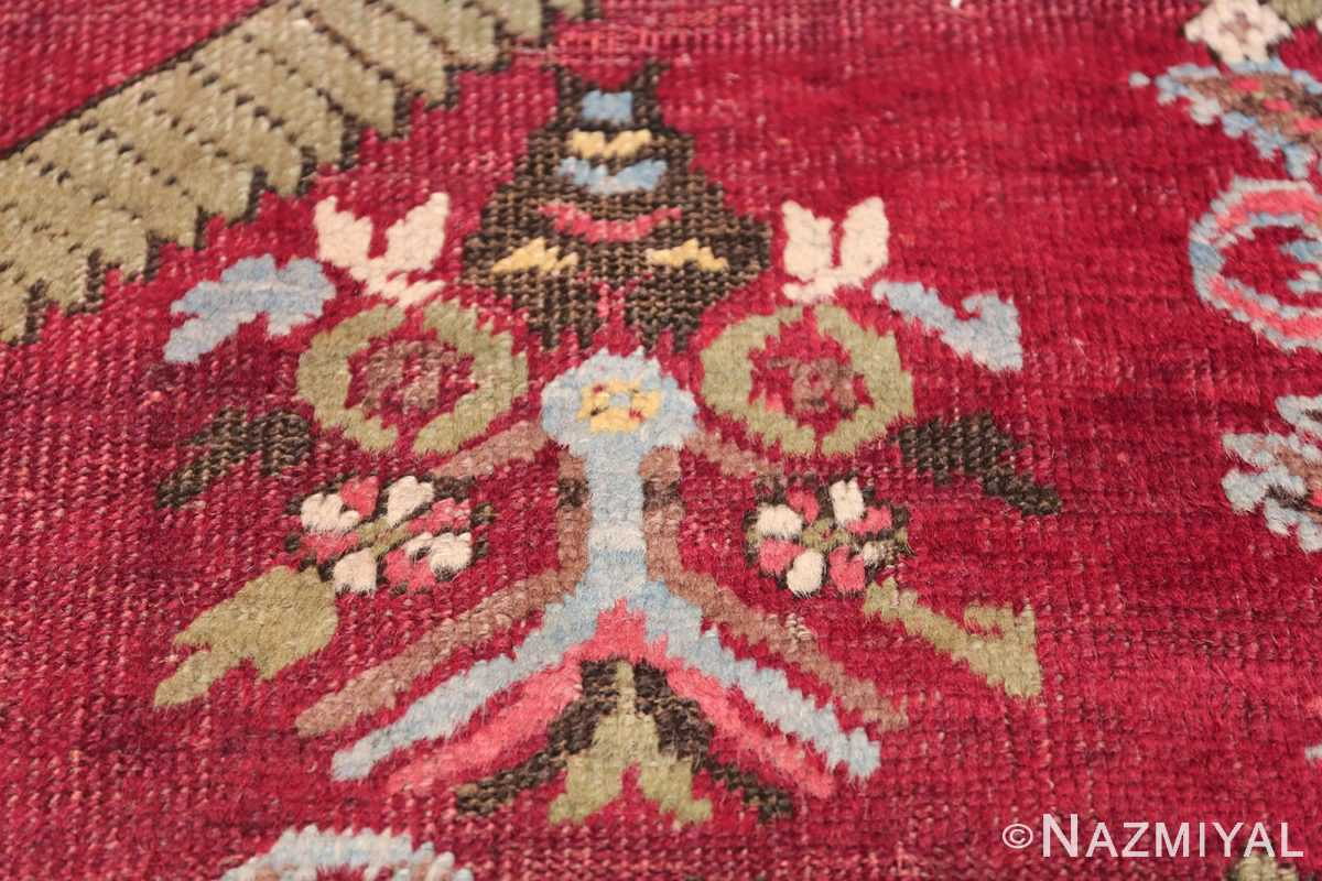 Antique Turkish kirshehir Runner 2389 Owl Depiction Nazmiyal