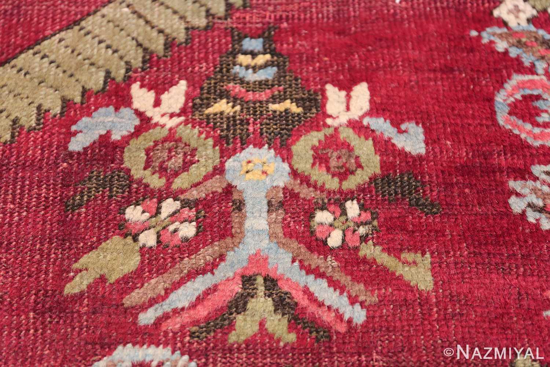 Antique Turkish kirshehir Runner 2389 Owl Depiction Nazmiyal