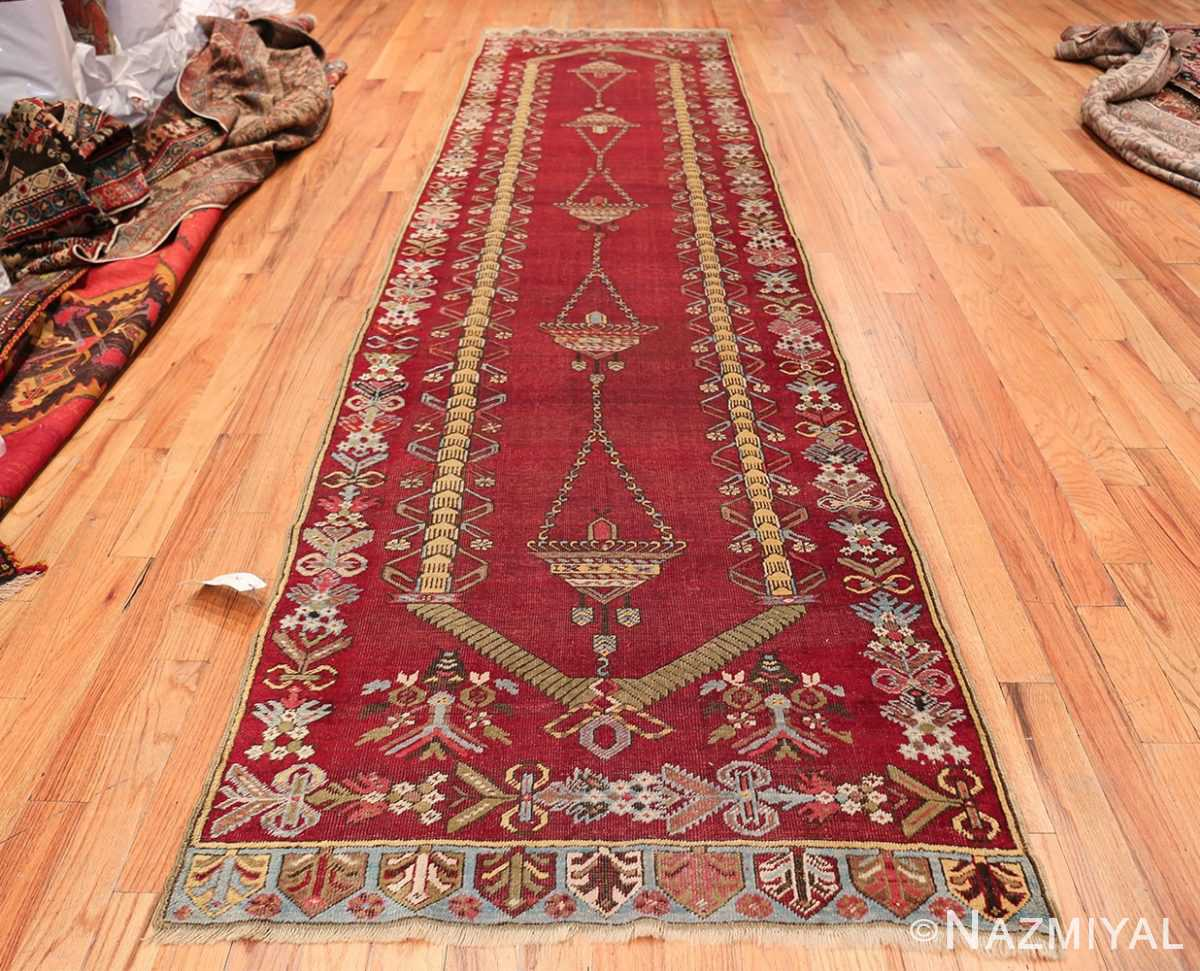 Antique Turkish kirshehir Runner 2389 Whole Design Nazmiyal
