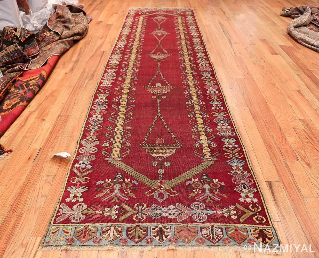 Antique Turkish kirshehir Runner 2389 Whole Design Nazmiyal