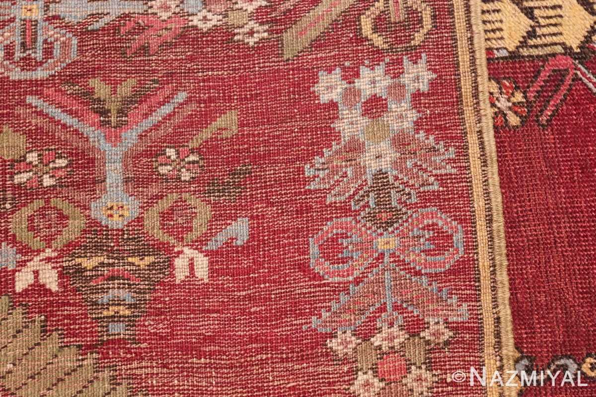 Antique Turkish kirshehir Runner 2389 Woven Knots Nazmiyal