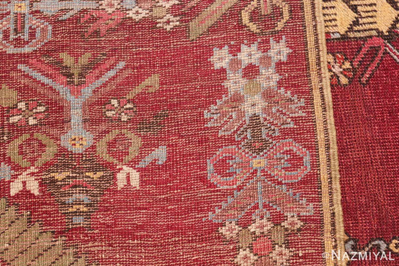 Antique Turkish kirshehir Runner 2389 Woven Knots Nazmiyal