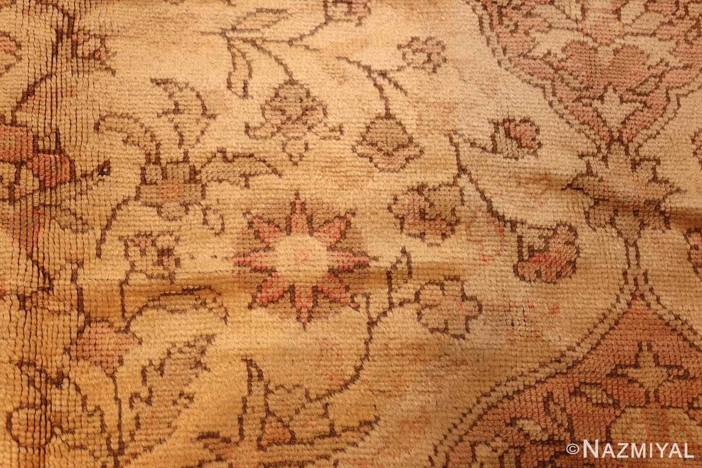 antique turkish oushak rug 2675 darkside Nazmiyal