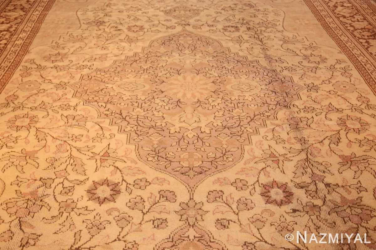 antique turkish oushak rug 2675 field Nazmiyal