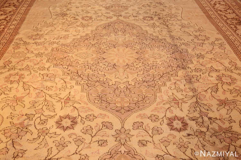 antique turkish oushak rug 2675 field Nazmiyal