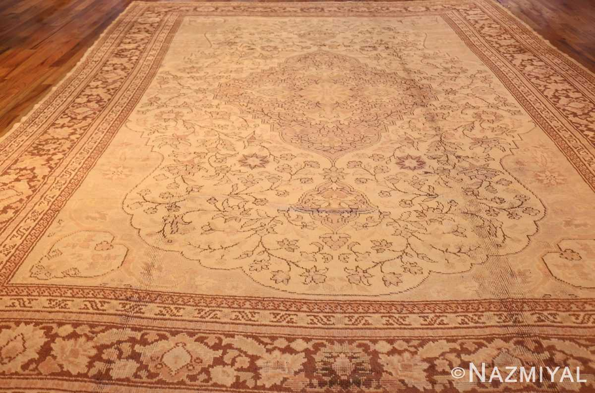 antique turkish oushak rug 2675 full Nazmiyal