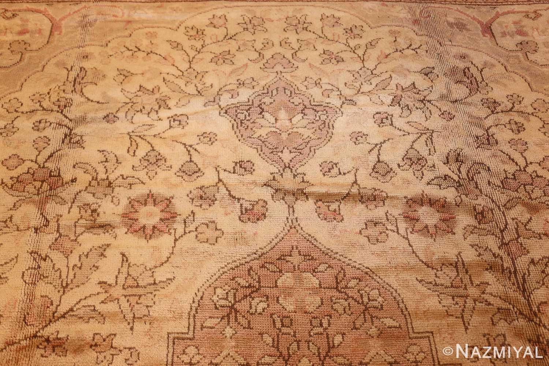 antique turkish oushak rug 2675 top Nazmiyal