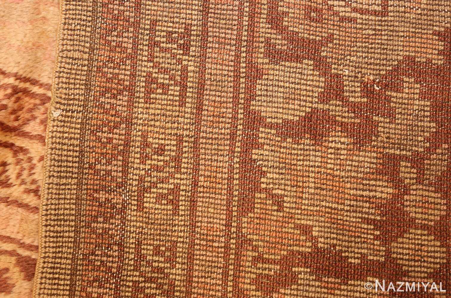 antique turkish oushak rug 2675 weave Nazmiyal