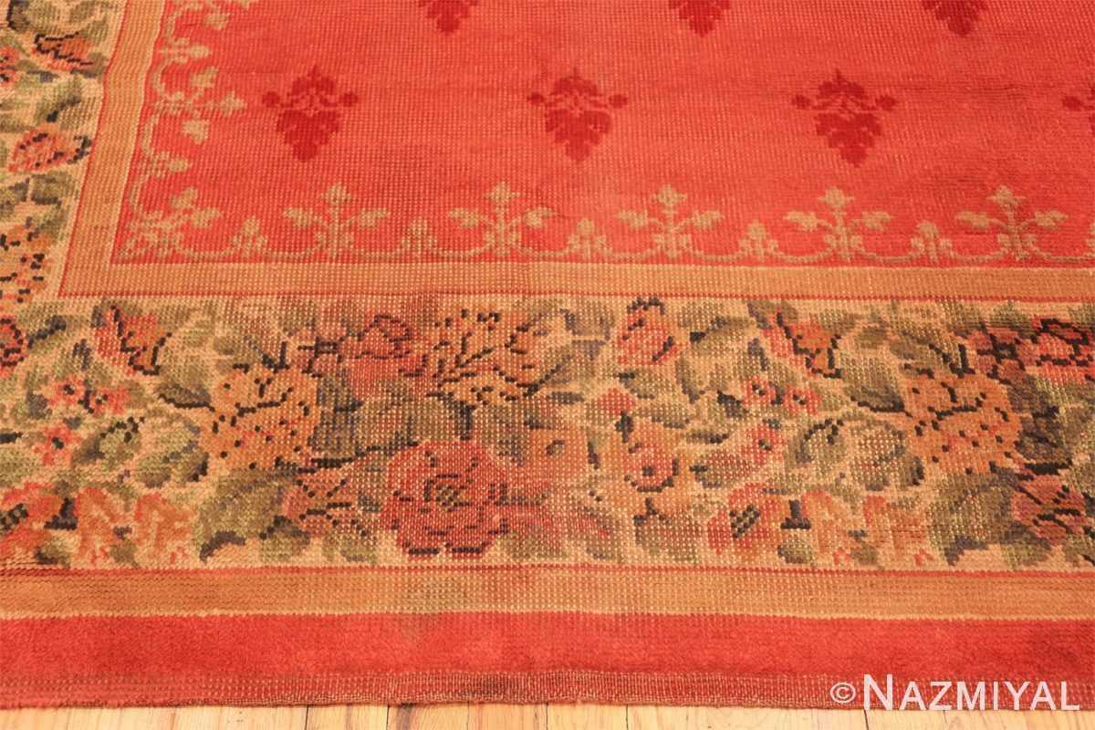 Border Antique English carpet 1832 by Nazmiyal