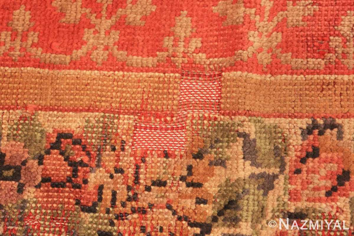 Close-up Antique English carpet 1832 by Nazmiyal