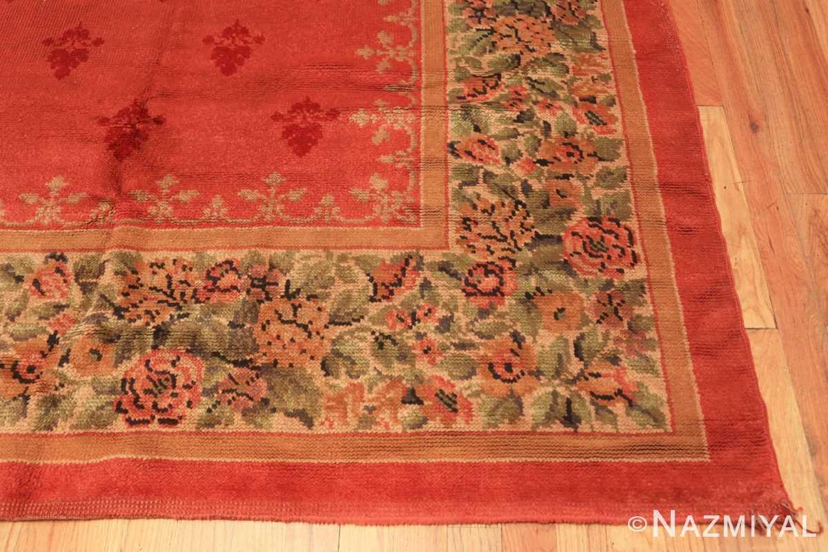 Corner Antique English carpet 1832 by Nazmiyal
