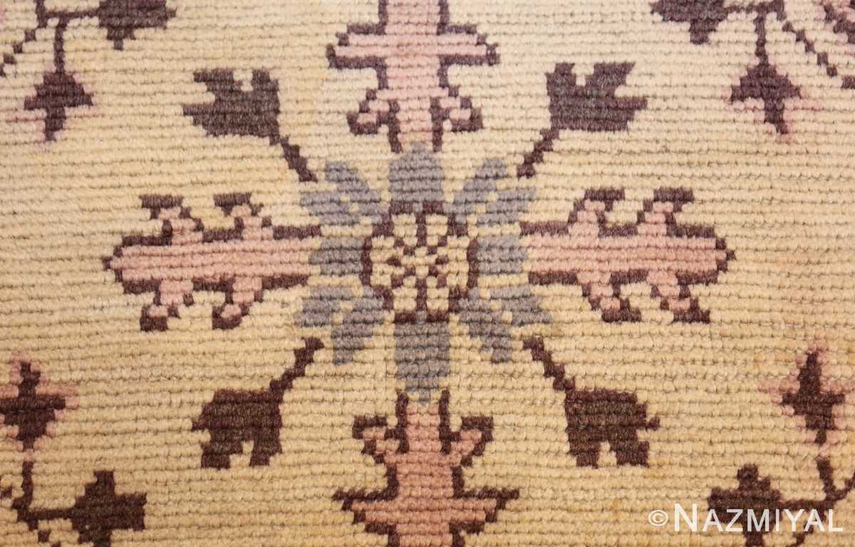 decorative antique turkish oushak runner rug 41776 texture Nazmiyal