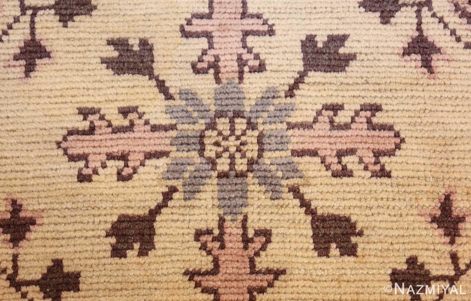 decorative antique turkish oushak runner rug 41776 texture Nazmiyal