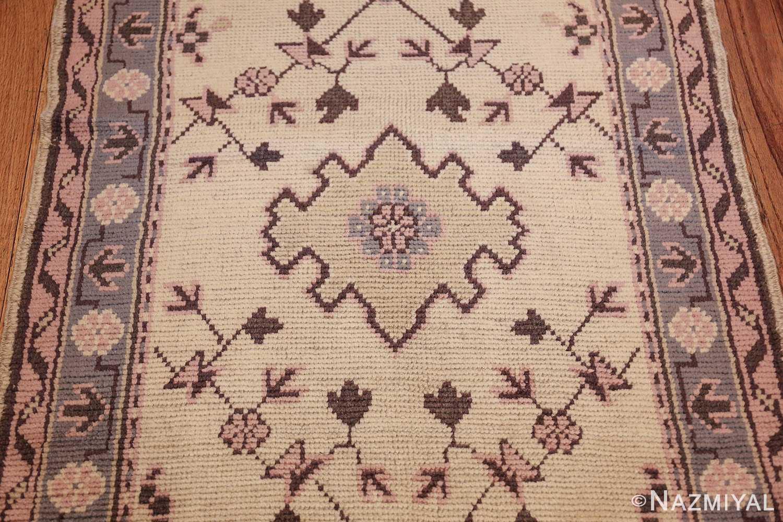 decorative antique turkish oushak runner rug 41776 yellow Nazmiyal